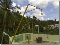top of the mast at vu2swx