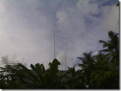 Antenna mast at vu2swx