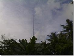 Antenna mast at vu2swx